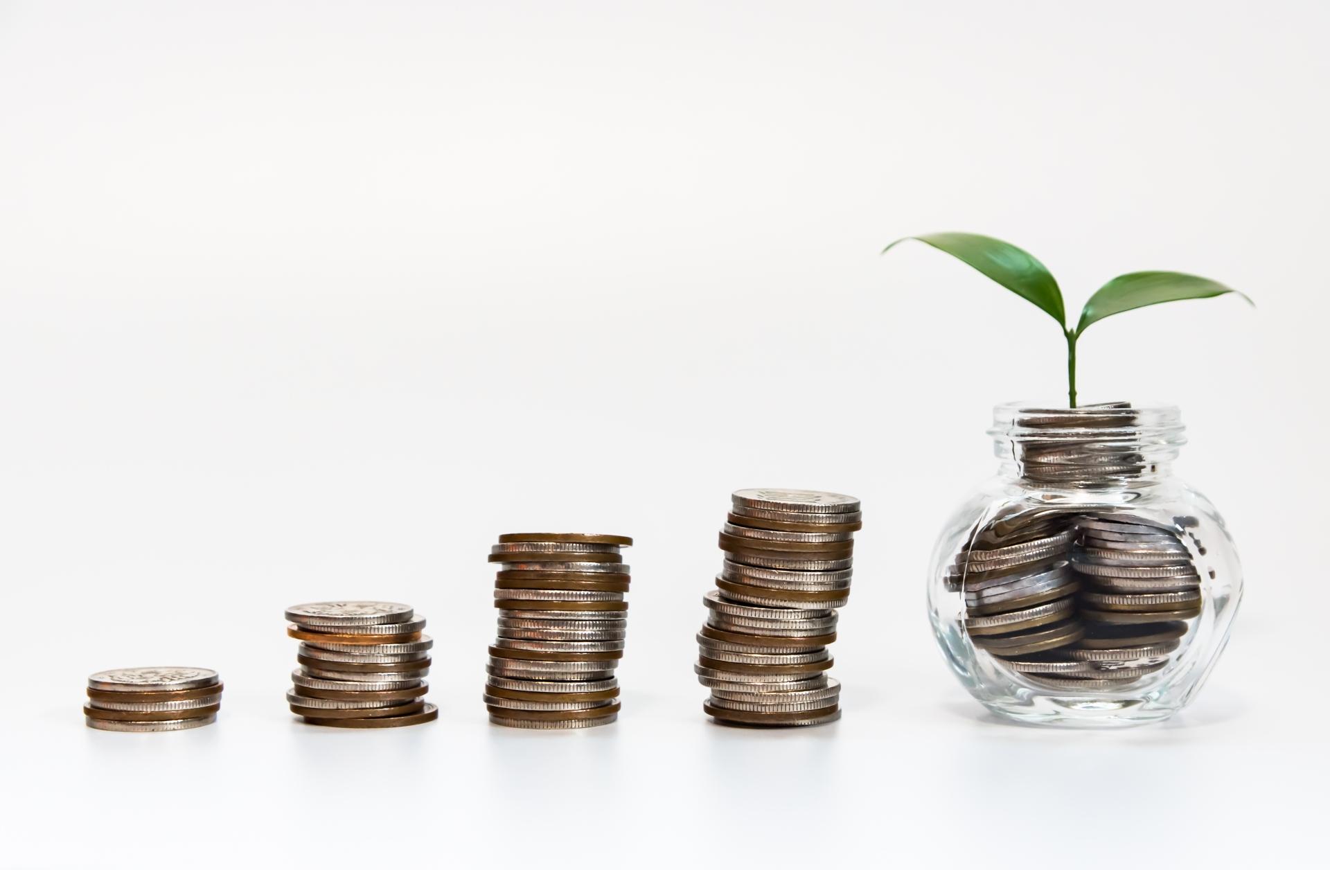 ファイナンシャルプランに希望を与える5つのステップ 2.投資を加える