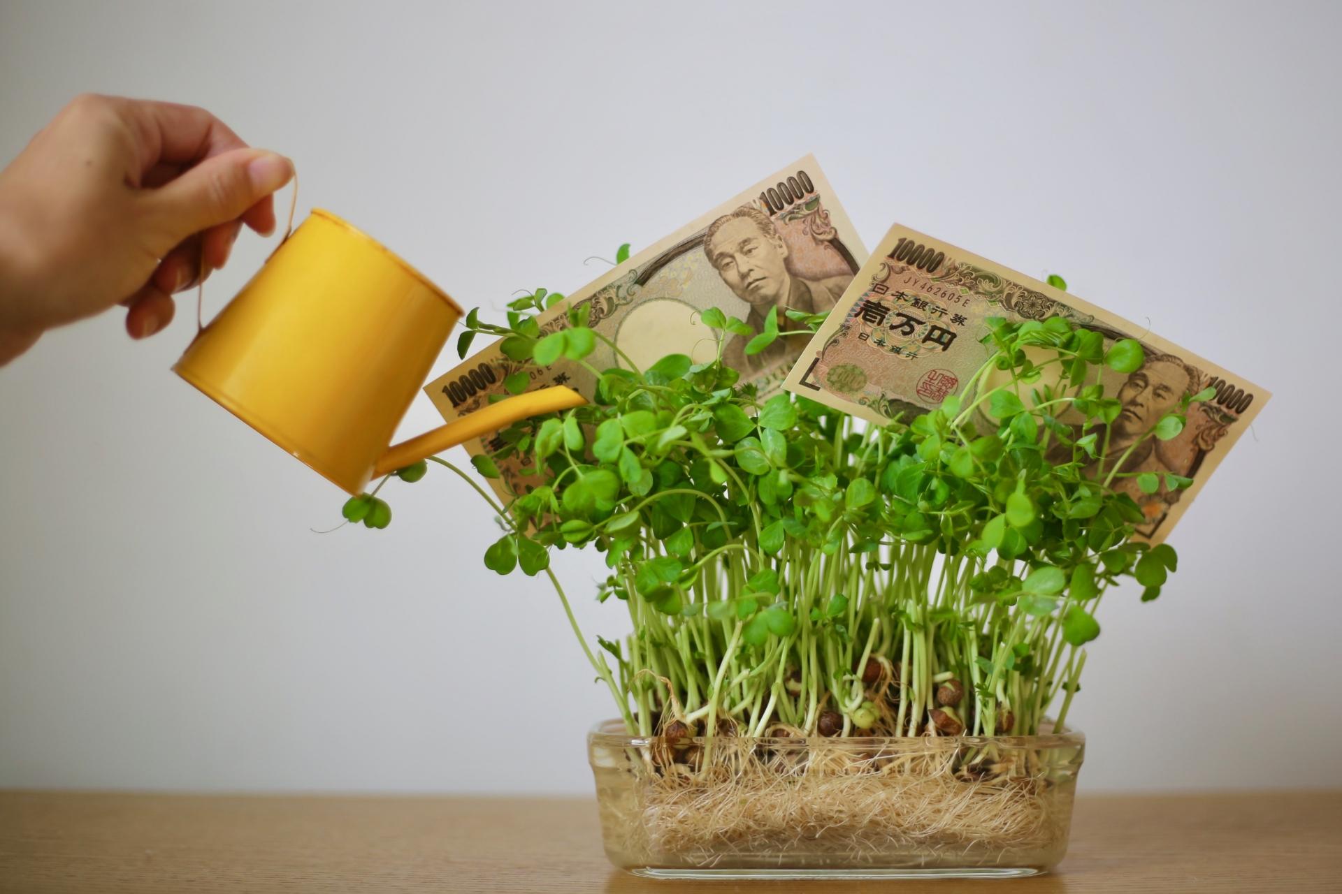 夢の金利生活はコツコツ投資で手に入る