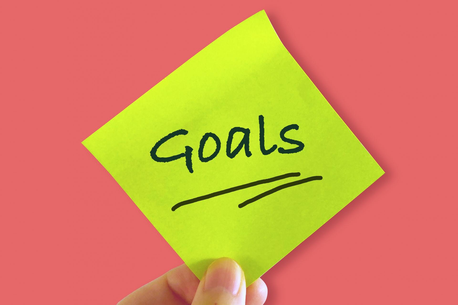 目標設定でやってはいけない3つのこと